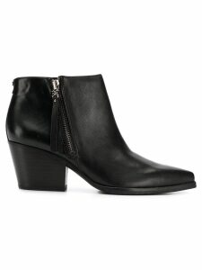 Sam Edelman pointed toe ankle boots - Black