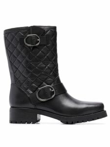 Michael Michael Kors quilted ankle boots - Black