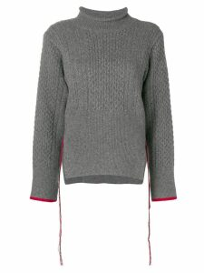 Eudon Choi knitted sweater - Grey