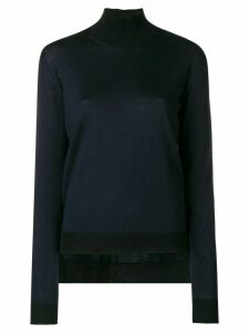 Golden Goose ribbed turtle neck jumper - Blue