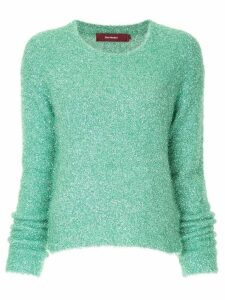 Sies Marjan tinsel jumper - Green