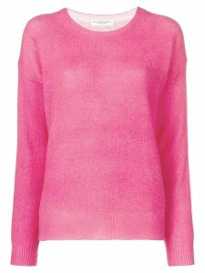 Majestic Filatures dropped-shoulder cashmere sweater - Pink