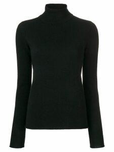 Majestic Filatures cashmere roll neck sweater - Black