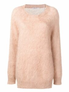 T By Alexander Wang crew neck sweater - NEUTRALS