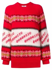 MSGM Barbasso knit jumper - Red