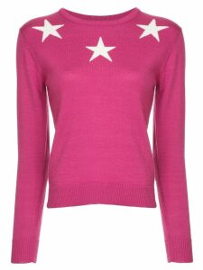 Guild Prime star print sweater - Pink