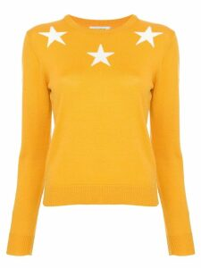 Guild Prime star print sweater - Yellow