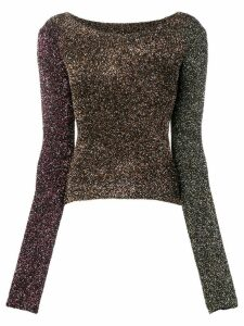 McQ Alexander McQueen fitted party sweater - Black