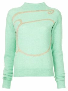 Onefifteen turtleneck sweater - Green