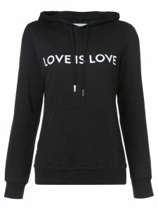 Prabal Gurung Love Is Love hoodie - Black
