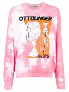 Ottolinger tie-dye sweater - Pink
