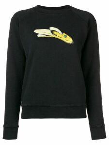Alexa Chung printed sweatshirt - Black