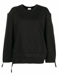 3.1 Phillip Lim pronounced seams sweatshirt - Black