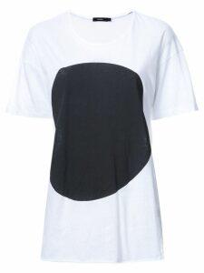Bassike dot-print T-shirt - White