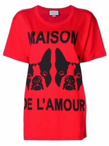 Gucci Maison de l'Amour T-shirt - Red