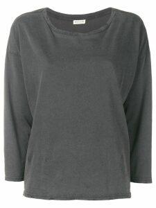 Masscob distressed long sleeve T-shirt - Grey