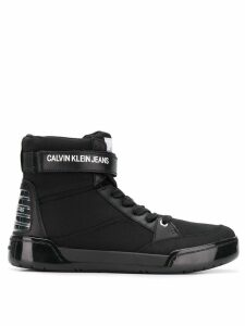 Calvin Klein Jeans high top sneakers - Black