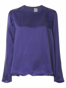 Maison Rabih Kayrouz round neck T-shirt - PURPLE