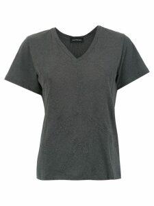 Olympiah panelled Malta t-shirt - Grey