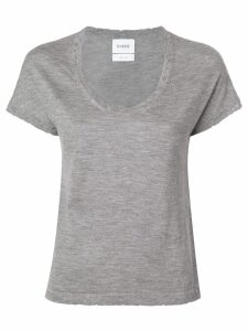 Barrie Sweet Eighteen cashmere top - Grey