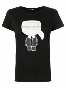 Karl Lagerfeld iconic Karl print T-shirt - Black