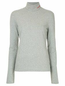 Calvin Klein 205W39nyc turtle neck top - Grey