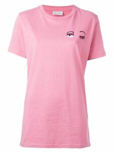 Chiara Ferragni Flirting long T-shirt - PINK