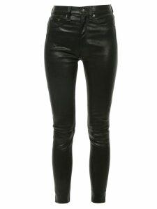 Rag & Bone skinny leather trousers - Black