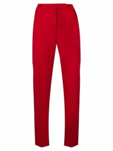 Styland slim-fit trousers - Red