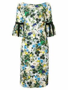 Erdem floral midi dress - White