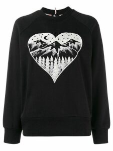Moncler Grenoble Après Ski embroidered sweater - Black