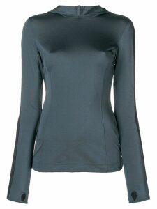 No Ka' Oi Mahina Olu hoodie - Grey