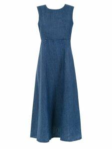 Osklen flared dress - Blue