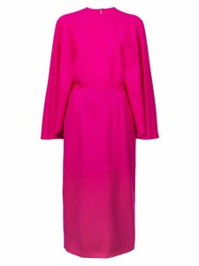 Sara Battaglia cape style dress - Pink