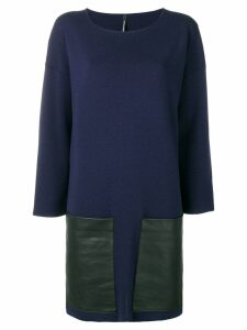 Pierantoniogaspari longsleeved dress - Blue