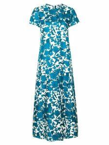 La Doublej floral print maxi dress - Blue