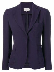 L'Autre Chose fitted jacket - Blue