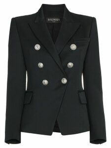 Balmain Marine double-breasted blazer - Black