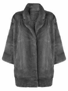 N.Peal oversized coat - Grey