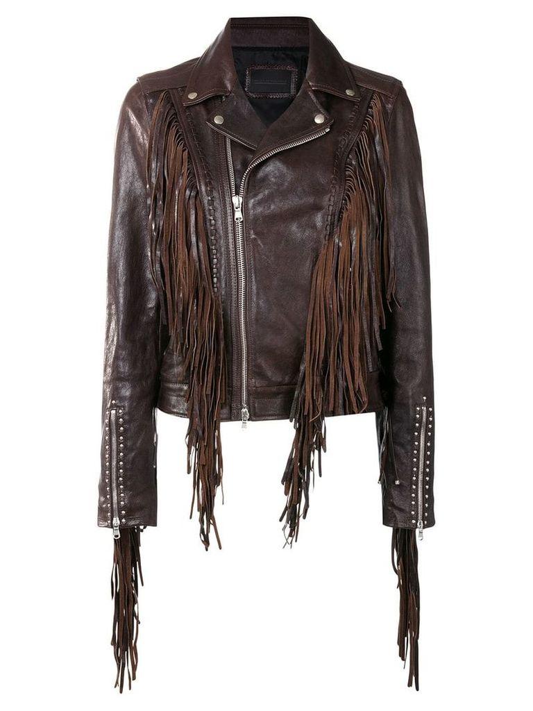 Diesel Black Gold Lamexi jacket - Brown