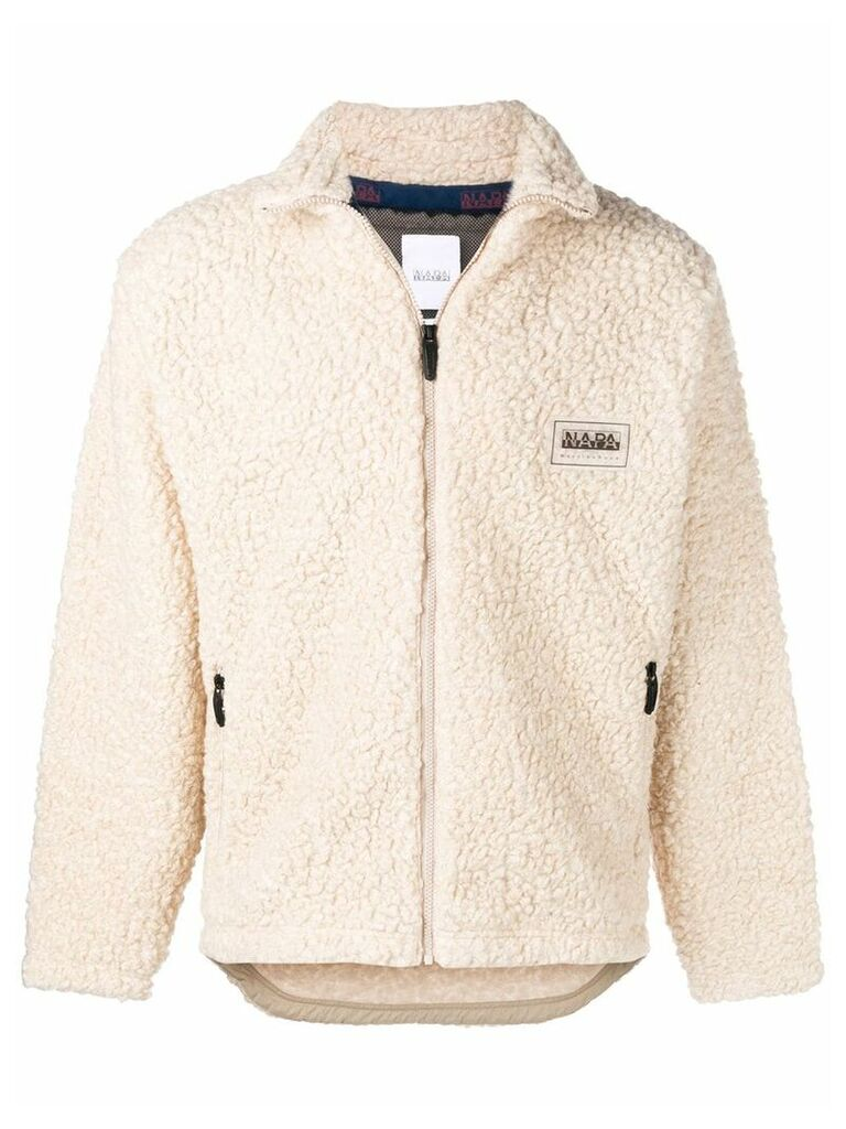 Napa By Martine Rose loose fitted jacket - Nude & Neutrals