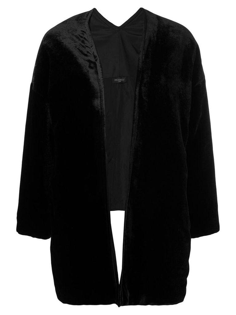 Antonelli open front jacket - Black