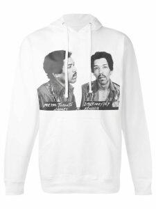 Ih Nom Uh Nit graphic print hoodie - White