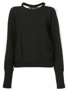 Rachel Comey side stripe sweater - Black