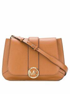 Michael Michael Kors logo cross body bag - Brown