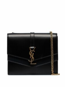 Saint Laurent black Montaigne leather shoulder bag