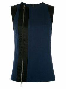 Tufi Duek vertical panels blouse - Blue