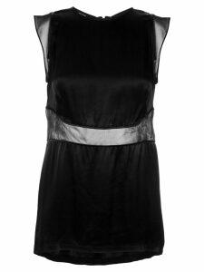 Tufi Duek sheer panels blouse - 50