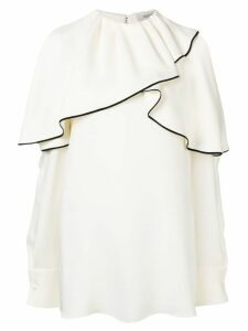 Valentino ruffled blouse - White