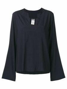 Kristensen Du Nord V-neck blouse - Blue